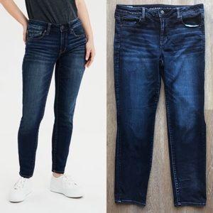 AEO Ne(x)t Level Skinny Jeans, Dark Cerulean
